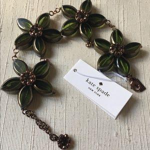 Kate Spade Centofolia Petitis Flower Bracelet